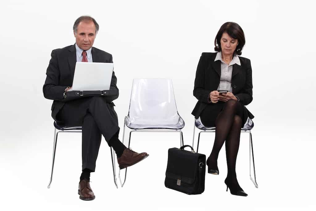 body language at an interview
