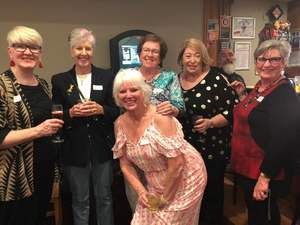 Fun at 50 Year School Reunion
