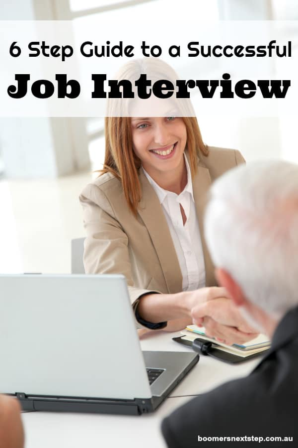 6 Step Guide to a Successful Job Interview Questions and Answers
