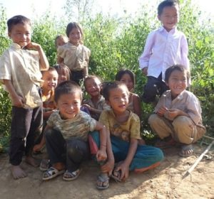 Lao children