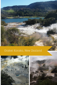 Orakei Korako thermal region