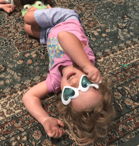 Childhood play is a natural stress relief strategy