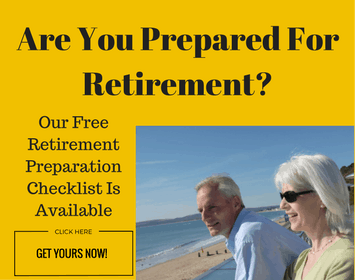 Are You Prepared For Retirement - Image of two baby boomers looking out to sea