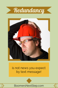Man wearing construction helmet