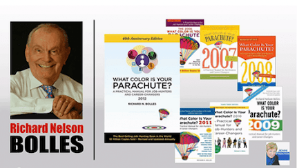 Richard Nelson Bolles author of What Color is your Parachute 3