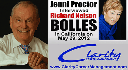 Richard Nelson Bolles author of What Color is your Parachute 2