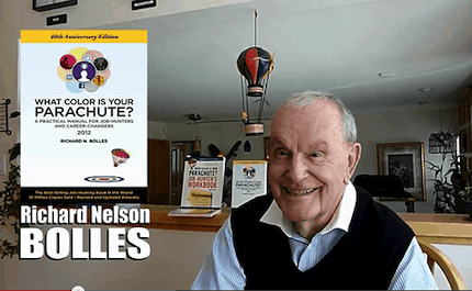 Richard Nelson Bolles author of What Color is your Parachute