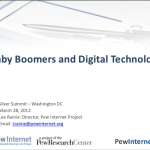 Baby Boomers and Digital Technology