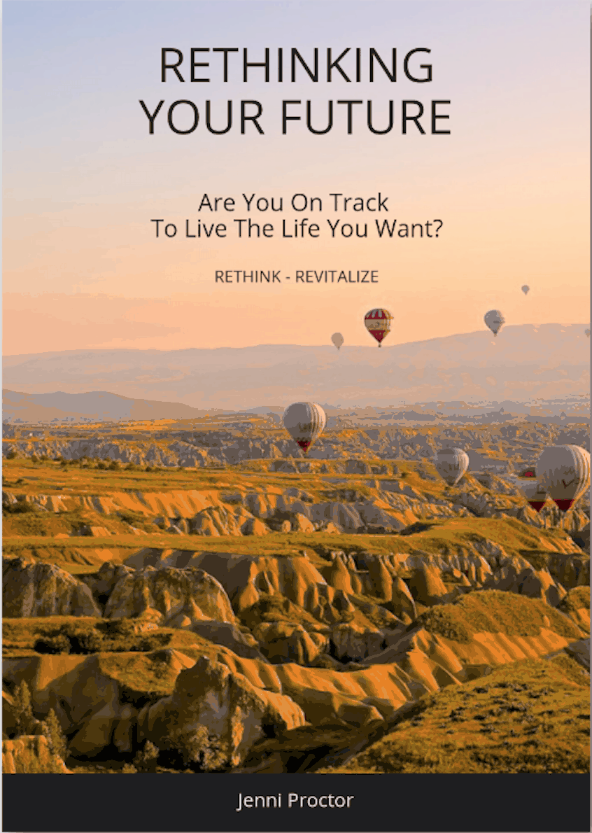 Preparing for retirement book called Rethinking Your Future