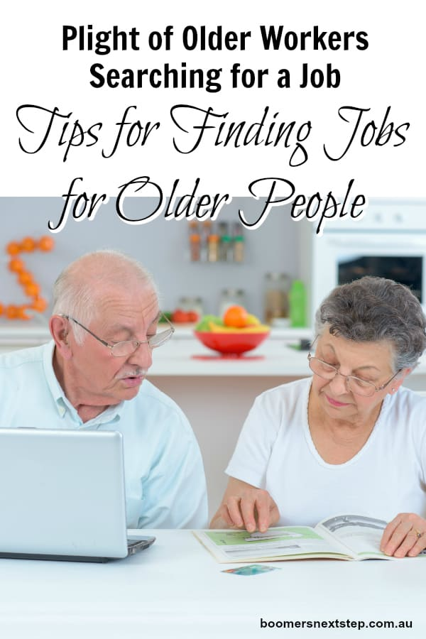 Tips for Finding Jobs for Older People