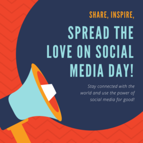 Spread the love on social media day