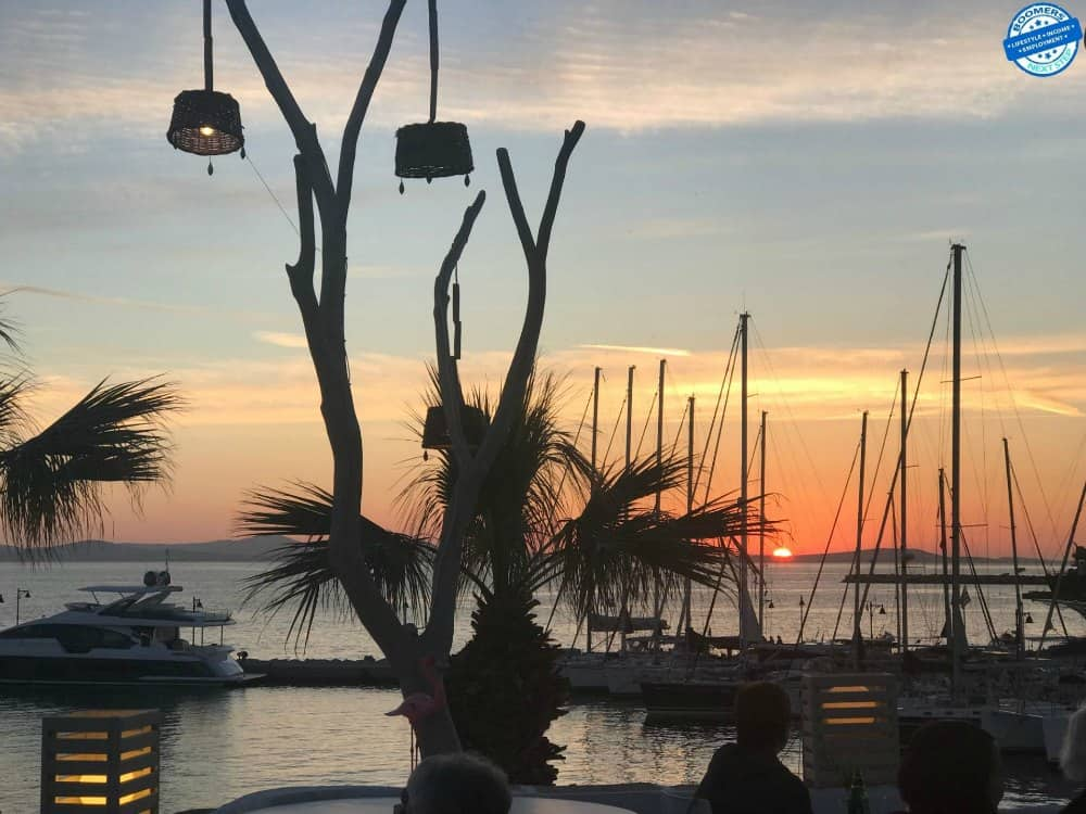 Cocktails at Sunset, Naxos Town