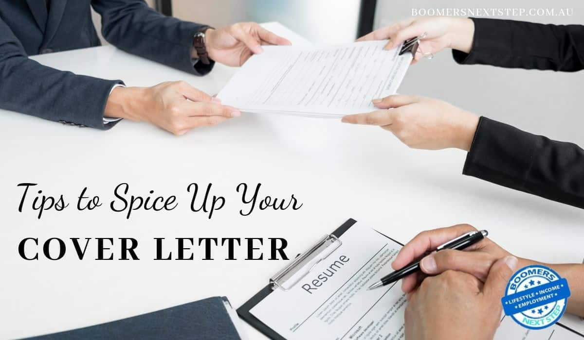 4 Tips to Spice Up Your Cover Letter for Job Application