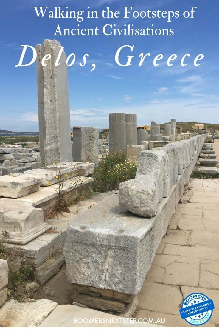 Walking in the Footsteps of Ancient Civilisations in Delos, Greece
