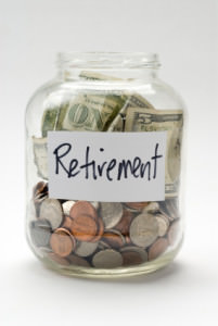 Retirement savings in a bottle