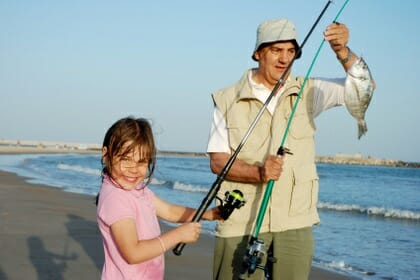 Fishing - stress relief strategy