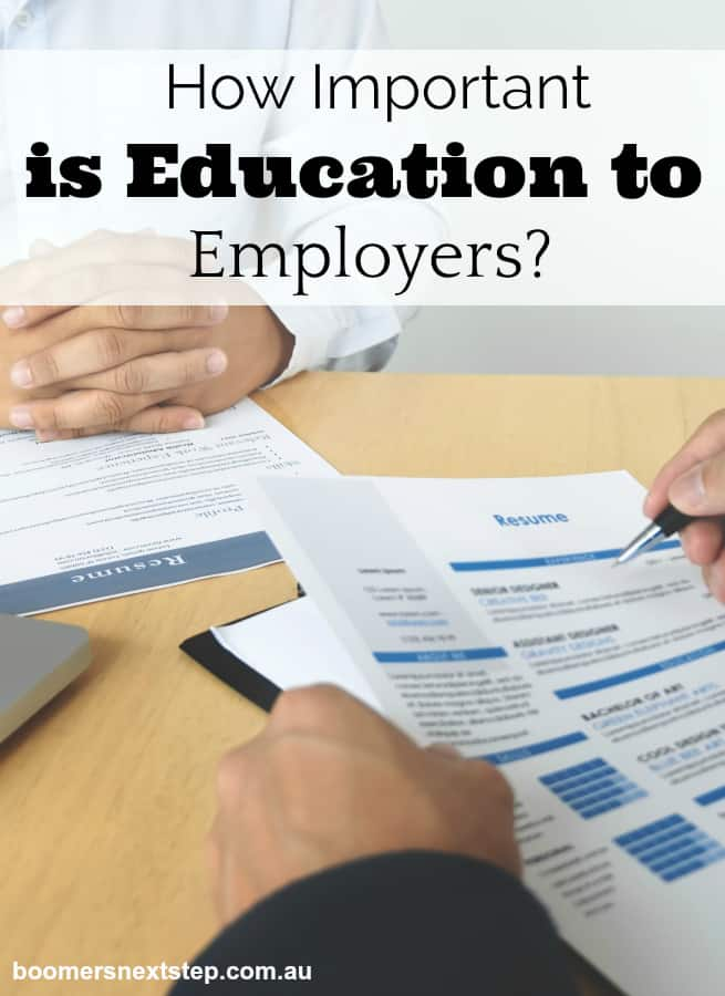 How Important is Education to Employers