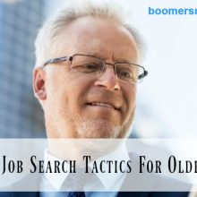 Older workers job search