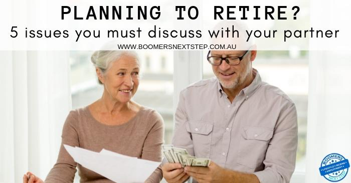 Retirement Plan should be discussed with partner