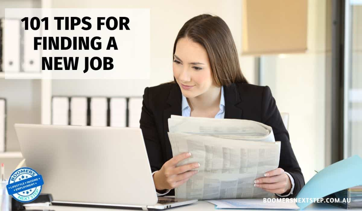 101 Tips for Finding a New Job